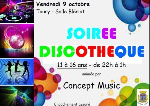 SAINT DENIS - soirée discothèque