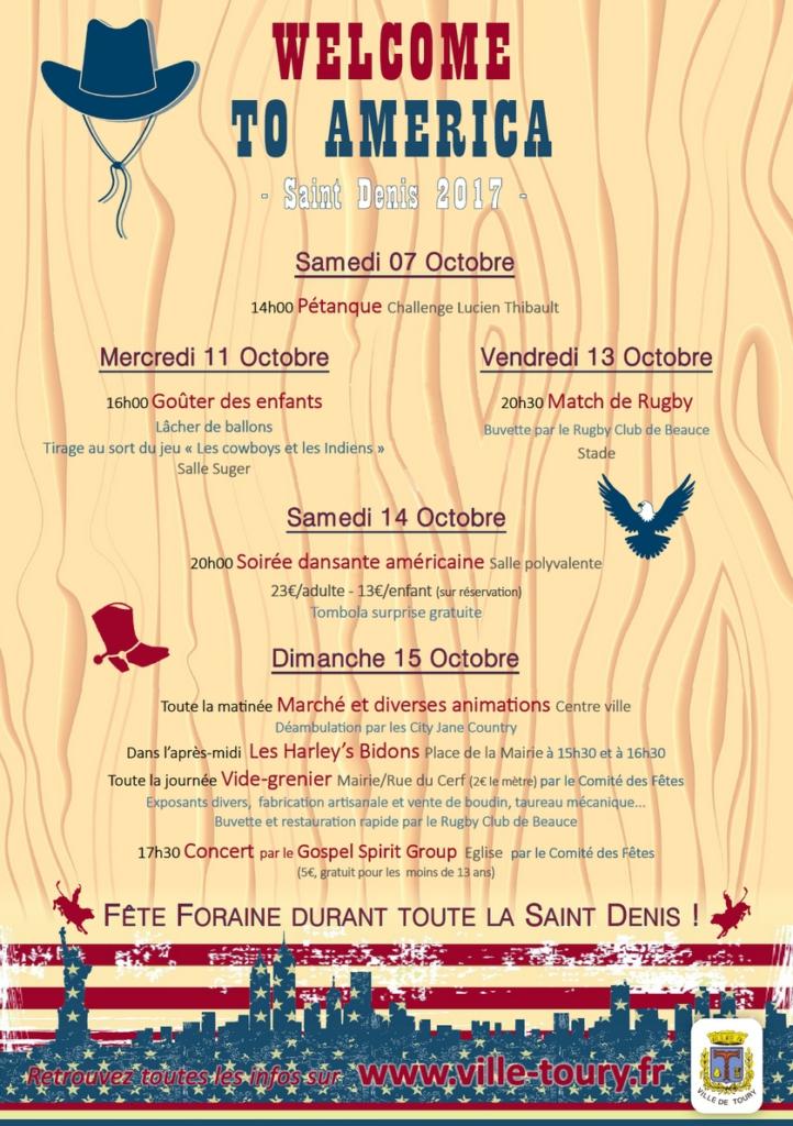 Saint Denis 2017 - Affiche Générale