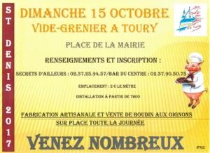 Saint Denis 2017 - Vide grenier
