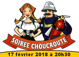 evenementiel-soirée choucroute 2018
