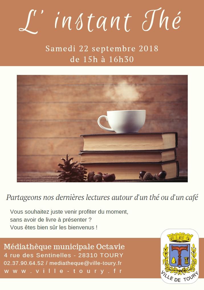 Instant Thé -Toury - septembre 2018