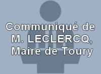 Actu-Communiqué du Maire